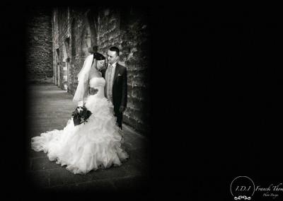 mariage-couple-en-noir-et-blanc