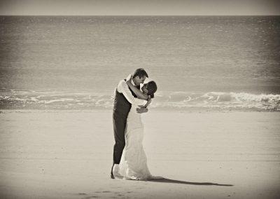 photographe tf seul sur la plage