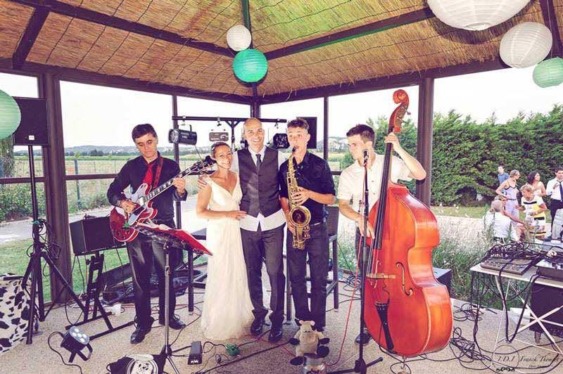 Musiciens de mariage