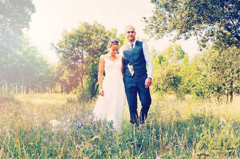 Les mariés a la campagne