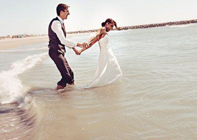 photographe tf les pieds dans l'eau
