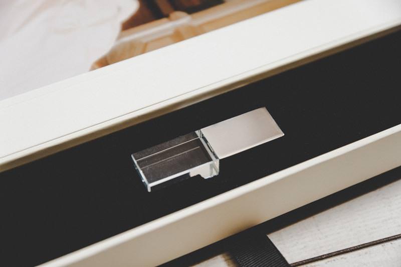 Coffret folio et USB